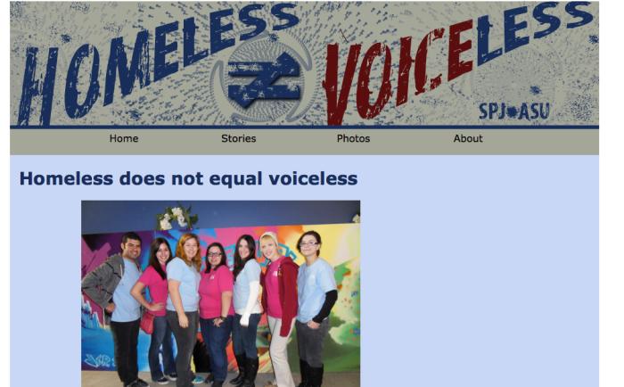 Homeless not Voiceless 2011